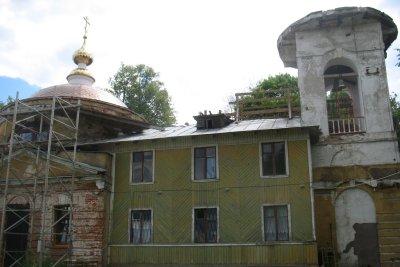 Преображенский храм в селе Нестерове. Современное состояние